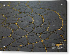 Cracked #11 Acrylic Print