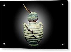 Crackpot Ninja Warrior From Maine Acrylic Print