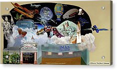 Cradle Of Aviation Museum Acrylic Print
