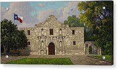 Cradle Of Texas Liberty Acrylic Print