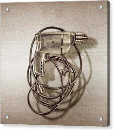 Craftsman Drill Motor Back Side Acrylic Print
