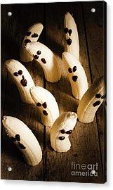 Crafty Ghost Bananas Acrylic Print