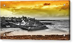 Crail Harbour Acrylic Print by Jeremy Lavender Photography