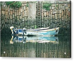 Crail Harbour Acrylic Print