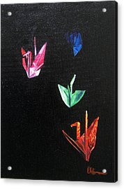 Crane Flight Acrylic Print