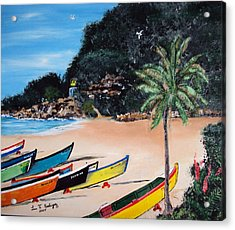 Crashboat Beach I Acrylic Print