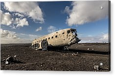 Crashed Dc-3 Acrylic Print