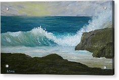 Crashing Wave 3 Acrylic Print
