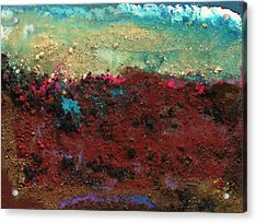 Crater #9 Acrylic Print by Joseph Demaree