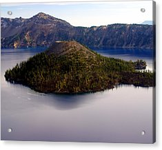 Crater Lake 1 Acrylic Print by Marty Koch