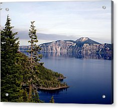 Crater Lake 3 Acrylic Print by Marty Koch