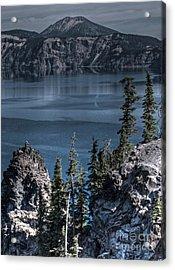 Crater Lake 4 Acrylic Print
