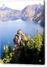 Crater Lake 4 Acrylic Print by Marty Koch