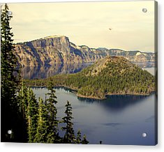 Crater Lake 6 Acrylic Print by Marty Koch