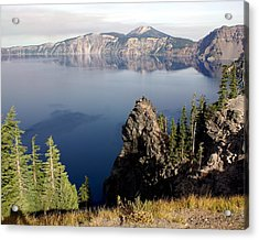 Crater Lake 7 Acrylic Print by Marty Koch