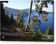 Crater Lake 9 Acrylic Print by Carol Groenen