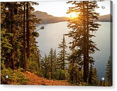 Crater Lake Acrylic Print by Brian Harig