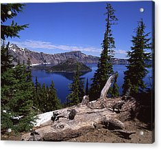 Crater Lake Acrylic Print by Jim Nelson