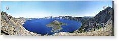 Crater Lake Panoramic Acrylic Print