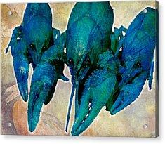 Crawfish Blues Acrylic Print by Stranger  Mojo