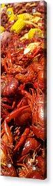 Crawfish Boil Bayou St John Nawlins Acrylic Print by Sean Gautreaux