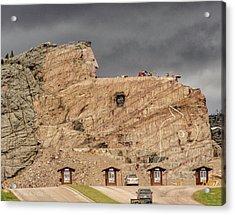 ...entrance Crazy Horse Memorial South Dakota.... Acrylic Print