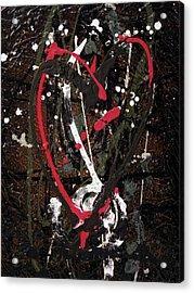 Crazy Love Acrylic Print by Jill English