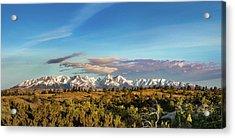 Crazy Mountains Acrylic Print