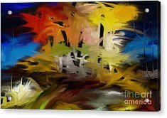 Crazy Nature Acrylic Print by Rushan Ruzaick
