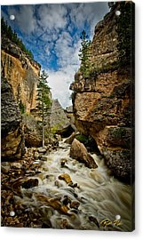Crazy Woman Canyon Acrylic Print
