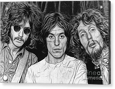 Cream Eric Clapton Collection Acrylic Print by Marvin Blaine