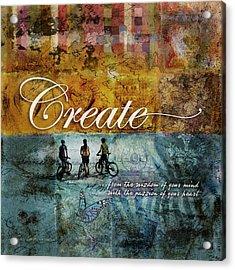 Create Acrylic Print by Evie Cook