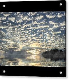 Created With #reflectapp. Morning Acrylic Print