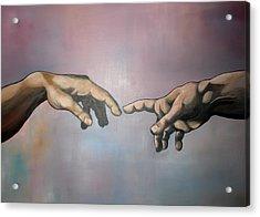 Creation Acrylic Print by Brent Jones