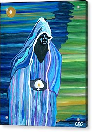 Acrylic Print featuring the painting Creation by Carolyn Cable