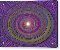 Creation Of The World Acrylic Print by Sher Magins