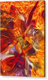 Creations Vortex Acrylic Print by AJ  Modiest