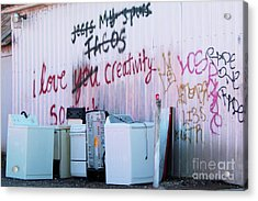 Acrylic Print featuring the photograph Creatively Yours by Joe Jake Pratt