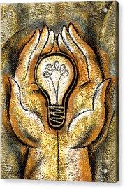 Creativity And Discovery Acrylic Print