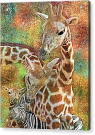 Creatures Great And Small Acrylic Print by Betsy Knapp