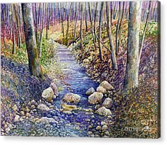 Creek Crossing Acrylic Print