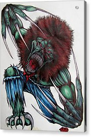 Creeper Acrylic Print