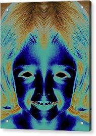 Creepy Daughter 2 Acrylic Print by Tisha Beedle