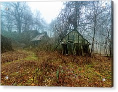 Acrylic Print featuring the photograph Creepy House by Enrico Pelos