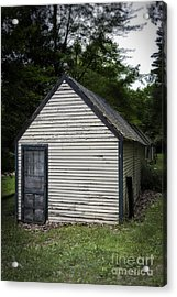 Creepy Old Cabins Acrylic Print