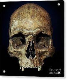 Creepy Skull Acrylic Print
