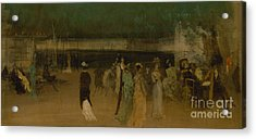 Cremorne Gardens Acrylic Print by James Abbott McNeill Whistler