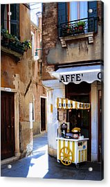 Crepes Cart Acrylic Print by Warren Home Decor