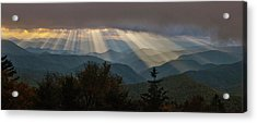 Acrylic Print featuring the photograph Crepuscular Rays by Rick Hartigan