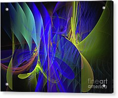 Acrylic Print featuring the digital art Crescendo by Sipo Liimatainen